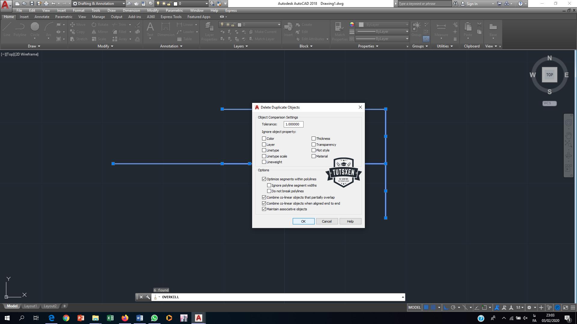 حل مشکل روی هم قرار گرفتن خطوط در اتوکد