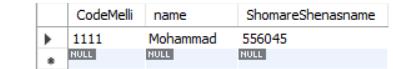 شرط گذاشتن در استخراج اطلاعات از جدول My SQL