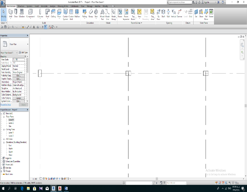 example about align in revit