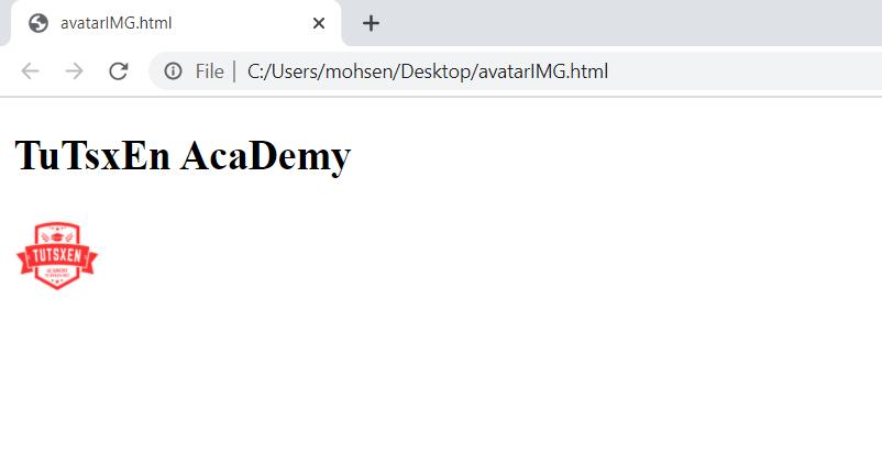 ساخت تصویر آواتار با HTML & CSS