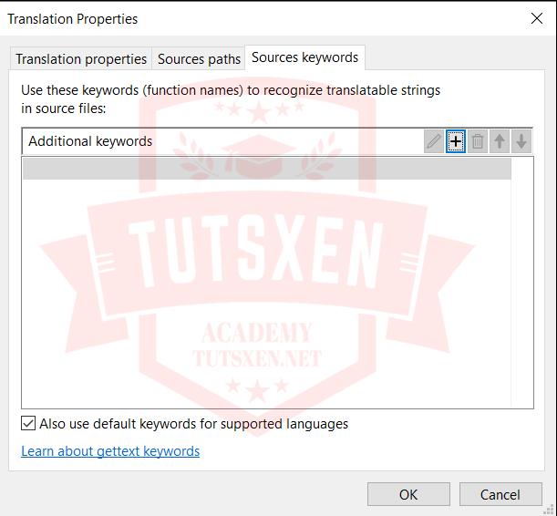 اضافه کردن توابع ترجمه